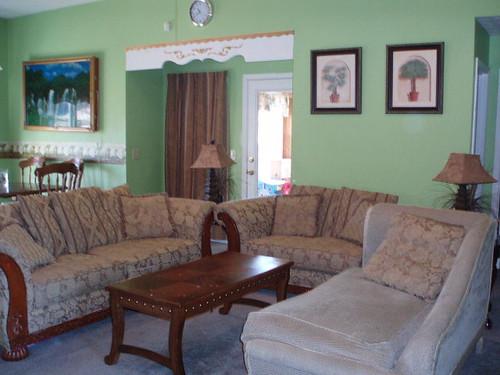 Living room of Phenix City home for sale