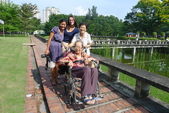 Easter Group Photo-Sasi, Maria, Siew Lian, Auntie Chee