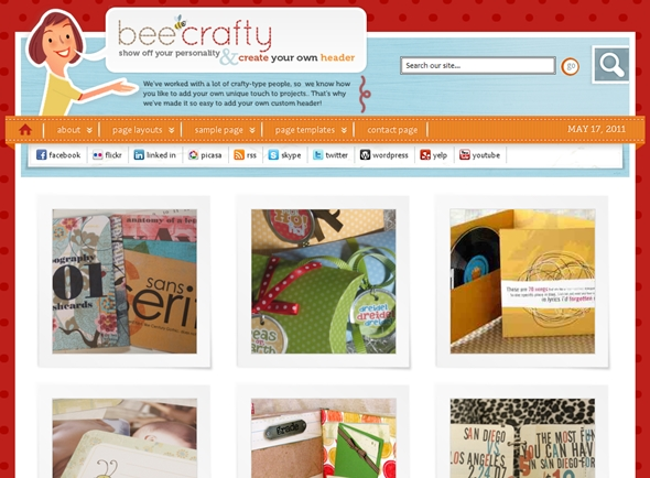 Bee Crafty Child Theme