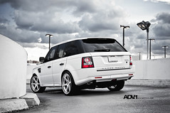 "ADV.1 Range Rover Sport on the new ADV6 Track Spec 22"" wheels"