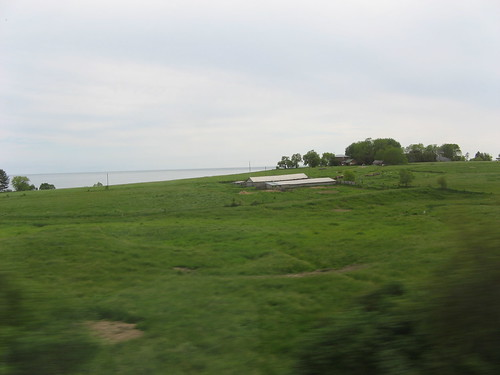 Ontario from the train by susanvg