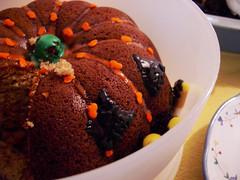 elizabeth's spice cake pumpkin.
