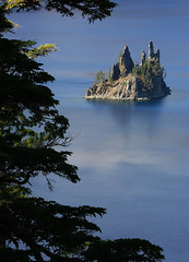 Phantom Ship in Crater Lake (4Durt) Tags: craterlake phantomship curttoumanian photodomino512