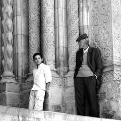 Pensieri (the bbp) Tags: wedding bw portugal kid child bn elderly marble coimbra matrimonio vecchio bambino marmo sévelha thebbp superbmasterpiece citazioneunposcontataforse