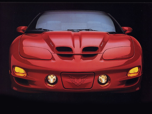 Muscle Car - 2000 Pontiac TransAm WS6