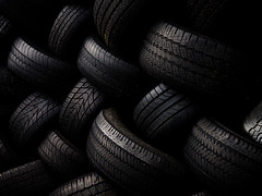 Tread (Steven Schnoor) Tags: black color colour art texture horizontal canon dark photo pattern photographer image  picture automotive rubber tires photograph pile 5d steven tread notbw verydark aworkinprogress schnoor landscapeorientation deepshadows imagesmyth stevenschnoor stevenschnoor
