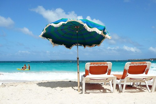 wallpaper beach scene. Beach Scene 3 - St Martin