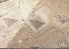 Great Pyramid of Giza, Google Earth. (Wonders _) Tags: ancienthistory egypt cairo pyramids ancientcivilization googleearth archeology ancientworld sevenwondersoftheworld greatpyramidofgiza ancientwonders thesevenwondersoftheancientworld sevenwondersancientworld egyptafrica