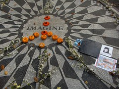 Strawberry fields - NY (danieleb80) Tags: newyork peace song centralpark imagine beatles johnlennon strawberryfields