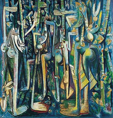 Wifredo Lam - The Jungle, 1943 by justinlei.