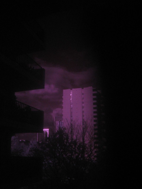 Downtown Portland in IR