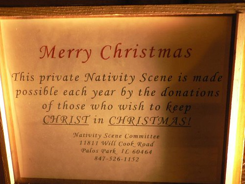 Nativity Sign