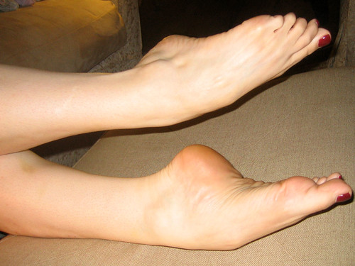 Sexy high arched feet confirm