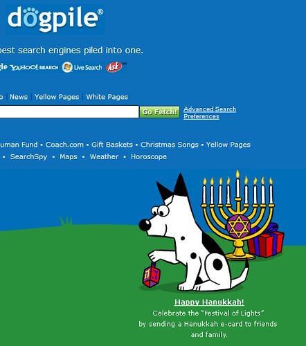 Dogpile Chanukah Theme