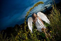 archangel (TyC) Tags: flowers light portrait sky woman plants girl beauty female angel wings model nikon philippines makeup holy archangel davao guardian protector advocate tyc davaocity d80 strobist nikonstunninggallery tyroncruz tycruz