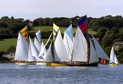 Point & Penpol regatta (doublejeopardy) Tags: sea water point boat cornwall village racing sail regatta falmouth workingboat traditionalwoodenboats penpol villageregatta flickrlovers flikrlovers