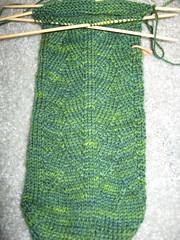 WIP: Green Dragon Sock - Inheritance Sockology
