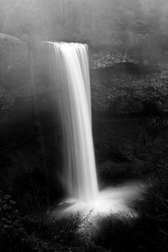 Over The Edge - South Falls at Silver Falls State Park in Oregon