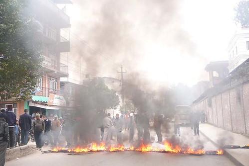 Kathmandu Burning