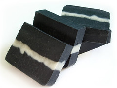 Tea Tree Charcoal Soap (BunnyButtApothecary) Tags: soap handmade bunnybutt coldprocess egcg