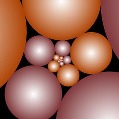 Indra's Pearls (fdecomite) Tags: spiral geometry math pearl doyle indra imagej