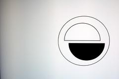 Complementary (Josep Ma. Rosell) Tags: barcelona white black logo bcn 2008 blanc negre gener rod pentaxk10d batega fundacifotocolectania