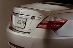 2009 Acura RL Trunk
