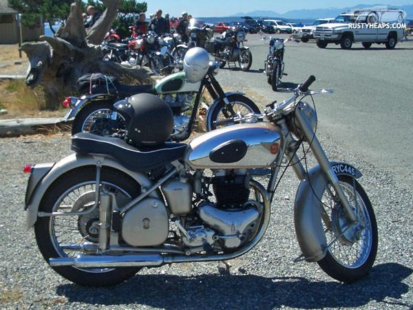 1954 BSA Golden Flash