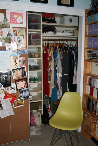 Spring cleaning vs. the Closet, view 2