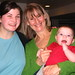 Jessica Olson, Kathy, and baby Luke Olson