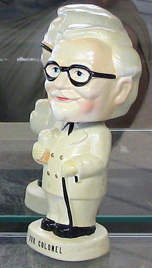 Col Sanders Bobblehead