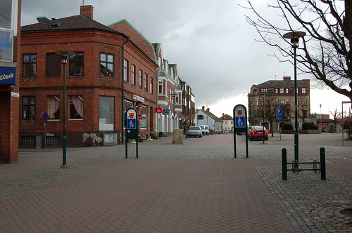 Svedalaの街はわりと小さい。