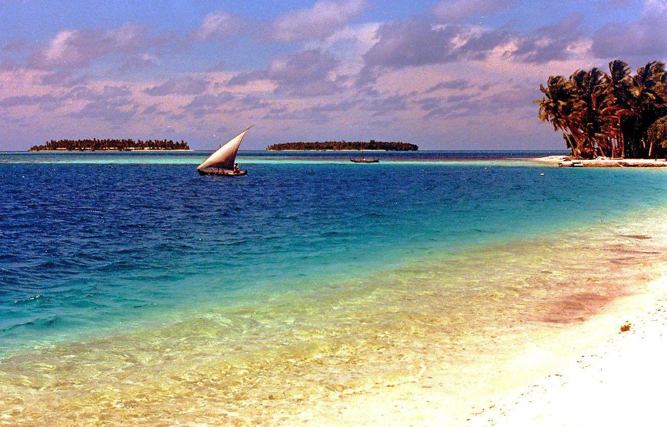 Maldive Islands Beach Wallpaper