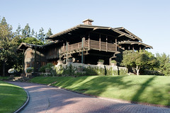 Gamble House Happy 100th Birthday (KeithJ) Tags: california 20d architecture canon pasadena artsandcrafts gamblehouse exposureblended