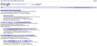 Good Google Rankings