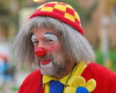 Clown at Parkinson's Disease of San Diego 5k W...