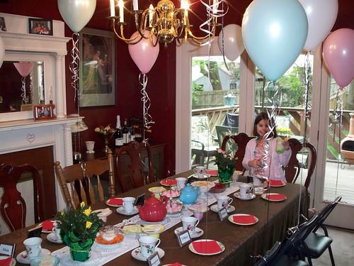 Daisy Tea Party