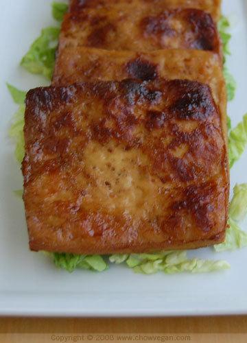 Chinese 5-spice Baked Tofu