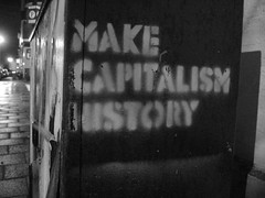 Make capitalism history, Groningen, Netherlands (Mesa Pegasi) Tags: history netherlands graffiti groningen capitalism