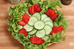Fond de salade