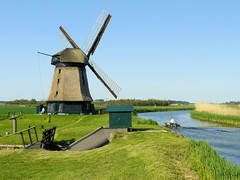 Just a perfect day (Bn) Tags: topf25 windmill topf50 thenetherlands kisses perfectday waterpump dijk topf100 soe dike breathtaking noordholland poldermill supershot 100faves 50faves 25faves binnenkruier abigfave poldermolen krommedijk platinumphoto anawesomeshot aplusphoto holidaysvacanzeurlaub wimmenumermolen nothernpartofholland arrivalbyboat anno1774 ericzwijnenberg