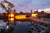 Dawn Breaks Over the East Washington Avenue Bridge (Madison Guy) Tags: eastwashingtonavenuebridge yaharariver bridge dawn lights river madison wisconsin wi slowshutterspeed tripod et4 madison365 enlightedbridge lks