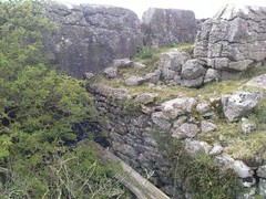 5. Crag Edge (Silver*Rose) Tags: abandoned ruins mine cumbria disused prehistoric remains hillfort history ancient heads local greaturswick underground limestone pavement workings skelmore