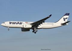 Iran Air. FIRST AIRBUS A330 FOR THE COMPANY. (Jacques PANAS) Tags: iran air airbus a330243 epija fwxaj msn1540
