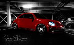 VW Beatle (simon.mccabe.5) Tags: street bug bugs vw beatle car red colour simon mccabe pop uk