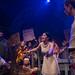 BoHo Theatre - Donterrio Johnson (Cladwell), Scott Danielson (Lockstock), Courtney Mack (Hope), Henry McGinniss (Bobby) and ensemble