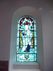 St. Cuthbert's Church, Marton - St. Elfleda window by Charles Eamer Kempe (Bolckow) Tags: kempe stcuthbertschurch elfleda charleseamerkempe stelfleda martonmiddlesbrough