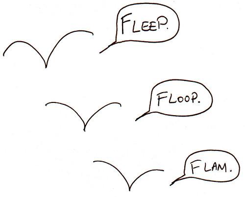 366 Cartoons - 100 - Fleep Floop Flam