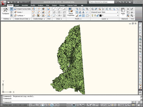 Dragging Shapefiles into Civil 3D