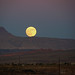 Moonrise over St. George UT